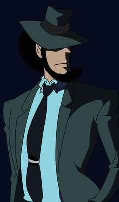 Studio Ghibli, Lupin The Third, Design Comics, Doodle Lettering, Magic Kaito, Manga Anime, Anime Boys, Detective, Fantasy Art