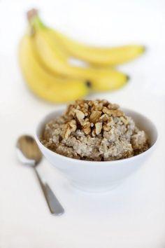 Banana Bread Breakfast Quinoa