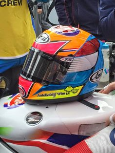 Racing Helmets Garage: Arai
