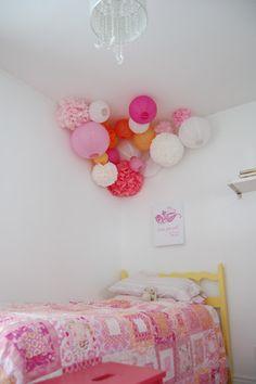 Shared Room paper lantern decoration