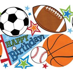 Sports Superstar Birthday Party Table Cover  Multi  54 x 84 Plastic *** Read more  at the image link.Note:It is affiliate link to Amazon. #commentalways
