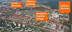 GERMANY - Benjamin Franklin Village was an American military housing area near Mannheim, Germany.