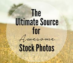 If you're looking for a place to get gorgeous/awesome/amazing stock photos, then this post is perfect! It has a round-up of several sources for you get stock photos for free!