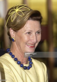 2003 - Lunch In Brasilia During The State Visit To Brazil Of King Harald & Queen Sonja Of Norway.