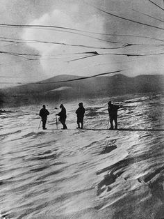 Ernest Shackleton on his south polar expedition (1910) | The Public Domain Review