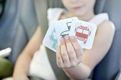Travel Games for Your Next Family Road Trip - simple as that! Print in ZOOM for low vision