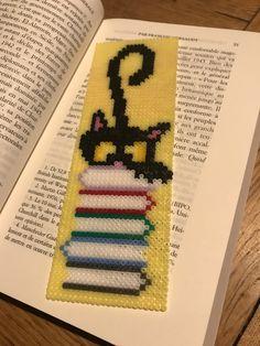 Bookmark/marque page hama mini beads