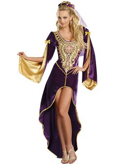 Ladies Queen of Thrones Costume, Medieval Lady Fancy Dress - Historical Costumes at Escapade™ UK - Escapade Fancy Dress on Twitter: @Escapade_UK