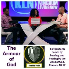 Kingdom Living Now  Join the conversation with us on our YouTube channel: KLN MEDIA. Today in our Armour of God series, Part 2 of The Shield of Faith was published. Here is the link: https://youtu.be/1lGTGzQ7iRY  Faith allows us to go beyond what we are able to see.  The Shield Of Faith represents a life of faith through which we are able to take what is invisible and make it visible. This requires a maturity in the spirit that goes beyond the faith to just believe for material things.  You…