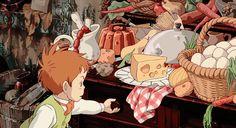The Spirit of Ghibli Hayao Miyazaki, Studio Ghibli Art, Studio Ghibli Movies, Anime Manga, Anime Art, Arte Cyberpunk, Anime Gifts, Howls Moving Castle, Animation
