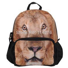 2014 high quality children school bag kid's backpack Toddler kid's Schoolbag Shoulder Bag 12 animal choose,BBP111S $28.60
