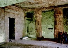 The tomb of Panehesy, who was the Egyptian noble and 'Chief servitor of the Aten in the temple of Aten in Akhetaten'. He was also the 'Seal-bearer of Lower Egypt'. These titles show how powerful he must have been during the Amarna Period.