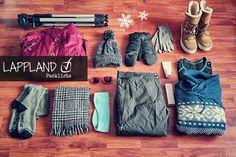 Die ultimative Packliste für Lappland im Winter