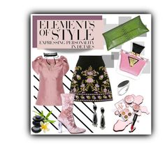 """Elements of Style"" by anabritt on Polyvore featuring moda, Forum, Vera Wang, Merchant Archive, VBH, GUESS, Fallon, Oscar de la Renta e Anastazio"