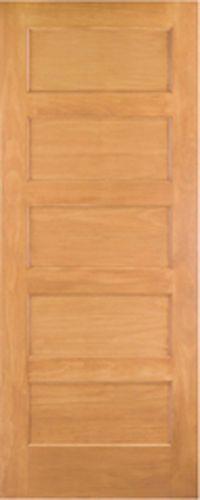 5 Panel Knotty Alder Flat Panel Mission Shaker Solid Core
