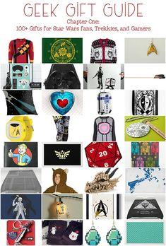 100+ Geek Gifts! Chapter One: Star Trek, Star Wars, Gamer gifts, D&D