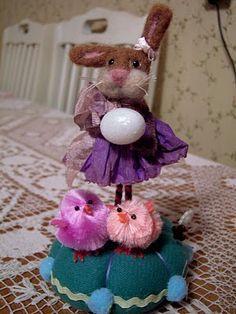 Cute Bunny Pinkeep!  Viv on a whim blog