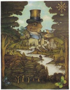 Wayne Anderson, Toad of Toad Hall, 1988 on Flickr