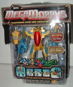 Mega Morphs Wolverine Transforming Super Hero Assualt Bot ** To view further for this item, visit the image link.Note:It is affiliate link to Amazon. #85likes