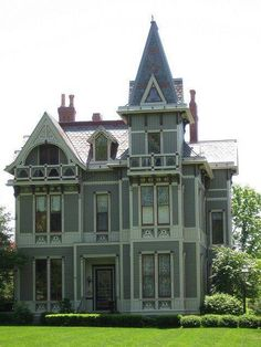 American gothic style house home design and style for Gothic house plans