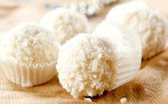 Beijinho de batata doce e coco