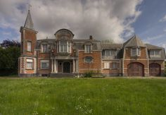 Abandoned villa near Antwerp, Belgium.
