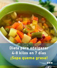 Dieta de la sopa para adelgazar en 7 dias lyrics