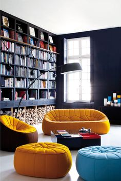 i heart Ligne Roset furniture, especially their couches and chairs