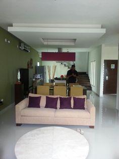 Living area of the Villa