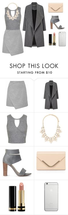 """Grey day"" by pamela-annus ❤ liked on Polyvore featuring Miss Selfridge, Forever 21, Splendid, Accessorize, Gucci and Native Union"
