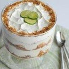Blogger Paula Kittelson from Blogging Foods shares a recipe for a creamy and crunchy Key Lime Trifle.