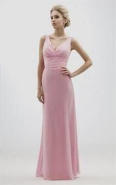 Cool dusky pink bridesmaid dresses 2017-2018