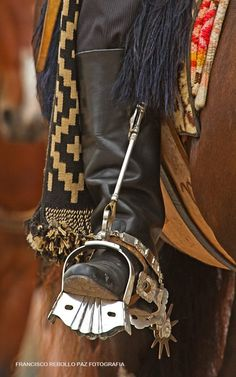 ♠ Gaucho.  a native cowboy of the South American pampas, usually of mixed Spanish and Indian ancestry