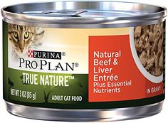 Purina Pro Plan Wet Cat Food, Tue Nature, Natural Beef