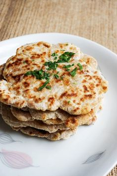 low carb naan stacked
