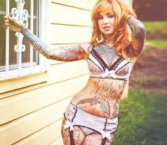 Tattoo photo of Little Linda