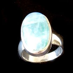 Moonstone & Silver Ring Oval - size UK - Q. USA - 8 http://www.crystalage.com/online_store/moonstone-and-silver-ring-oval-size-uk-q-usa-81004615891.cfm