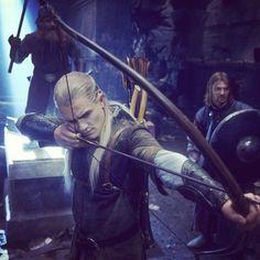 #legolas #gimli #boromir #elf #dwarf #moria #bow #arrow #fellowship #thehobbit #lotr #lordoftherings #Regram via @__lordoftherings__