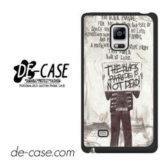 My Chemical Romance Lyrics DEAL-7539 Samsung Phonecase Cover For Samsung Galaxy Note Edge