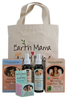 Earth Momma Angel Baby Postpartum Recovery Essentials Bundle-I REALLY want this for my hospital bag come December!