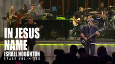 In Jesus Name - Israel Houghton - Lakewood Church Songs With A Message, Israel Houghton, Lakewood Church, Praise And Worship Songs, Forever, Your Voice, Names Of Jesus, Singing, Encouragement