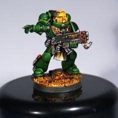Salamanders Space Marine Sergeant