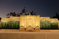 Photo From Reception at Club Millenium - By Altair Reception Stage Decor, Wedding Backdrop Design, Wedding Stage Design, Wedding Reception Backdrop, Indian Wedding Stage, Indian Reception, Engagement Stage Decoration, Wedding Hall Decorations, Desi Wedding Decor