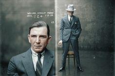 Australian Mugshot 1925 Opium Dealer William Stanley Moore (CCW)