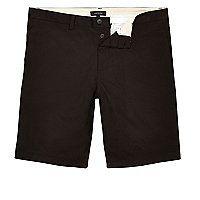 Cotton Slim fit Bermuda shorts Tailored design Button fastening