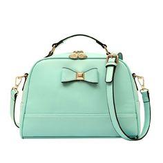 Fresh Style Bowknot Handbag Cross Body Bag