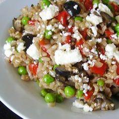 Mediterranean Brown Rice Salad Allrecipes.com