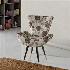 Poltrona Decorativa American Comfort Thais em T...