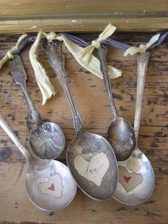 Awesome craft with old spoons