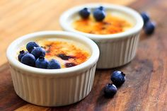 """Yogurt """"creme brulee.""""    EDIT: this was amazing as a """"healthy (?)"""" treat. Made it with skim Greek yogurt, strawberries, and walnuts and caramelized the sugar under the broiler. However, I think it would caramelize better with a kitchen torch."""